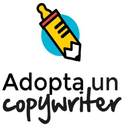 logo empresa formadora - adopta un copywriter