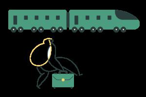 conseguir que los pasajeros suban a tu tren